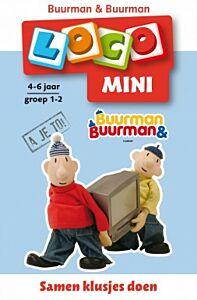 Mini Loco boekje Buurman & Buurman Samen klusjes doen (Noordhoff)