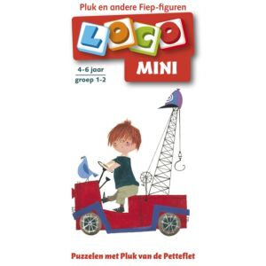 Mini Loco boekje: Puzzelen met Fiep figuren